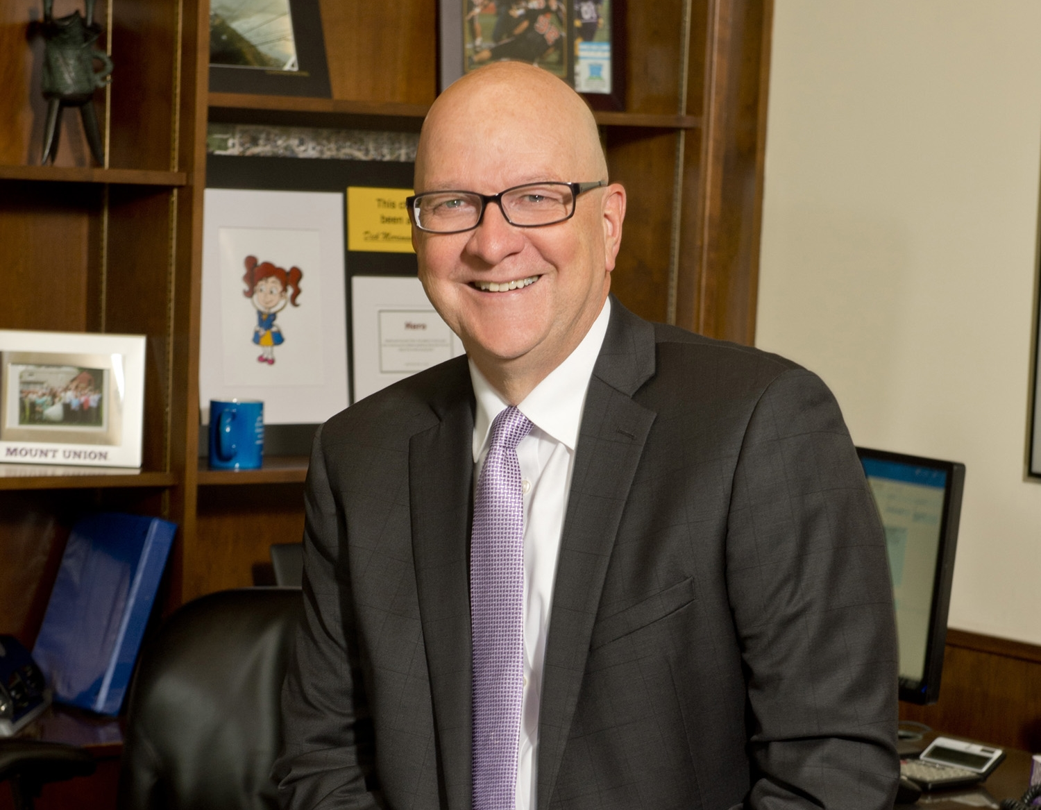 University of Mount Union President Dick Merriman