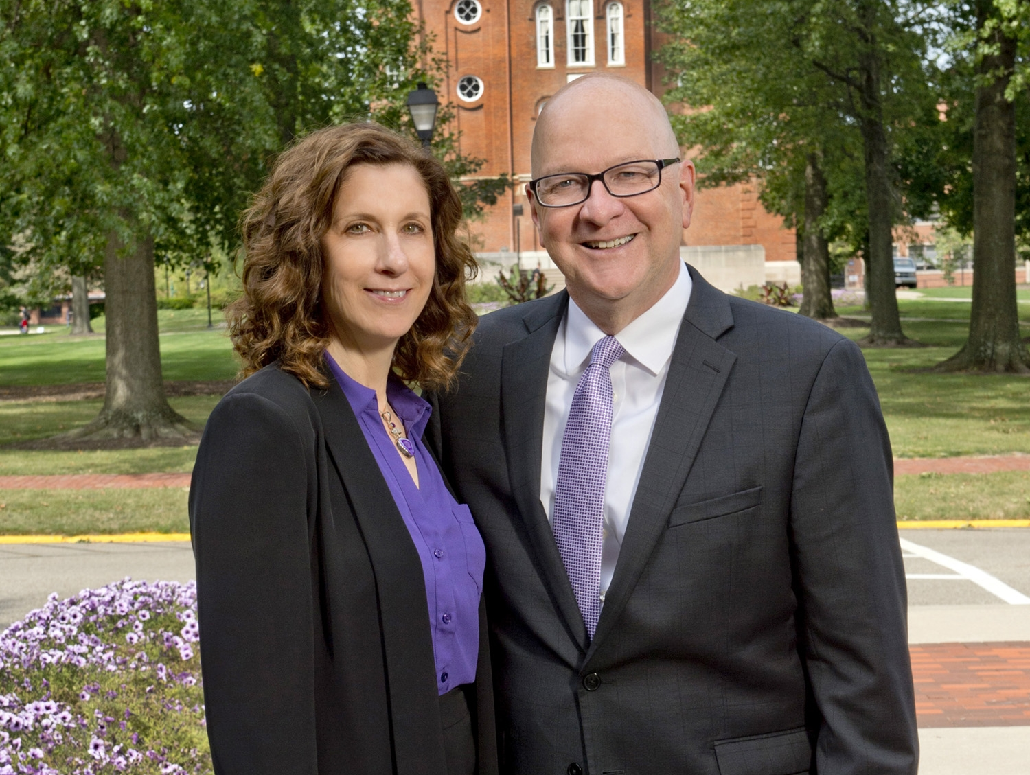 University of Mount Union President Dick Merriman and his wife Margot Kelman