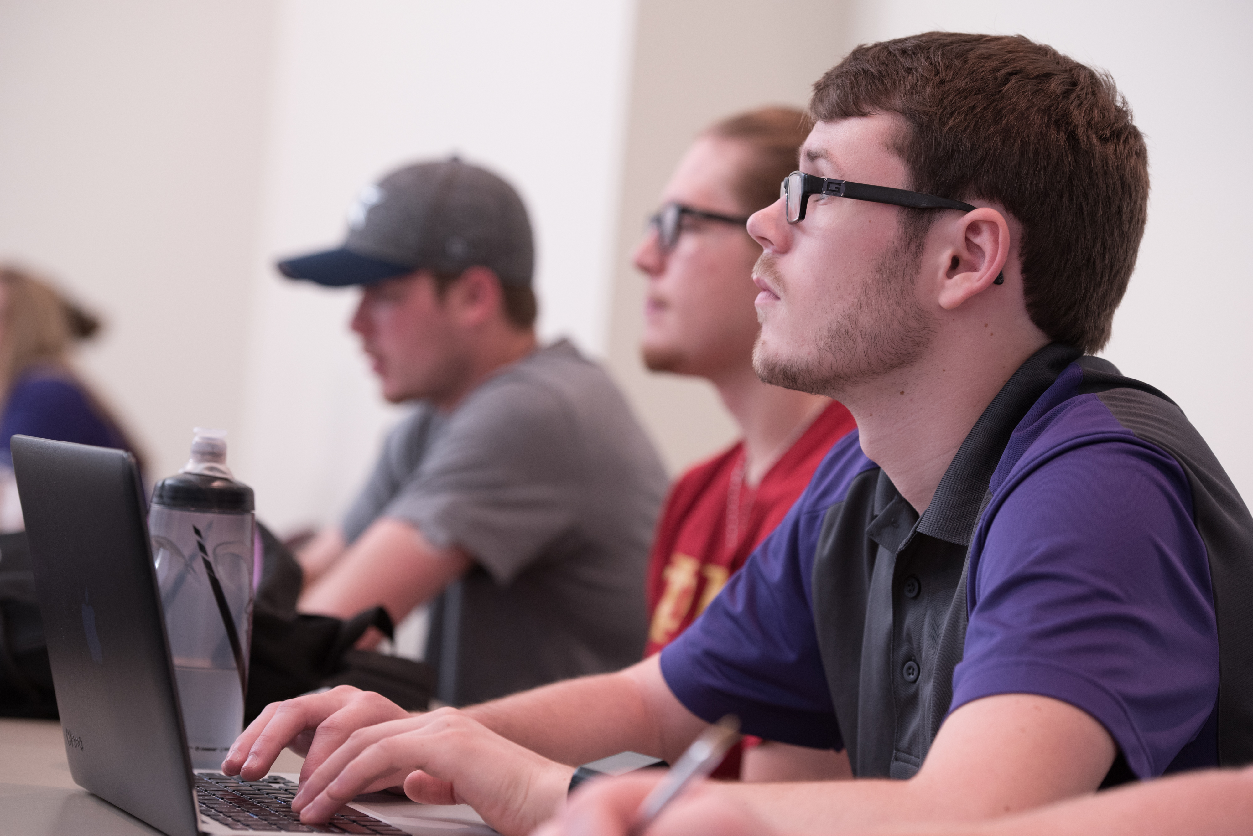 University of Mount Union students in class