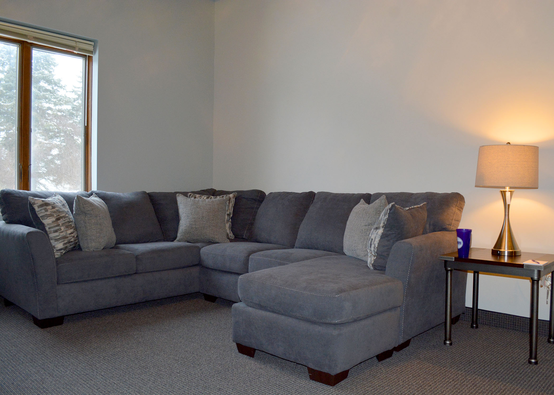 Interior image of the Glamorgan Apartments.