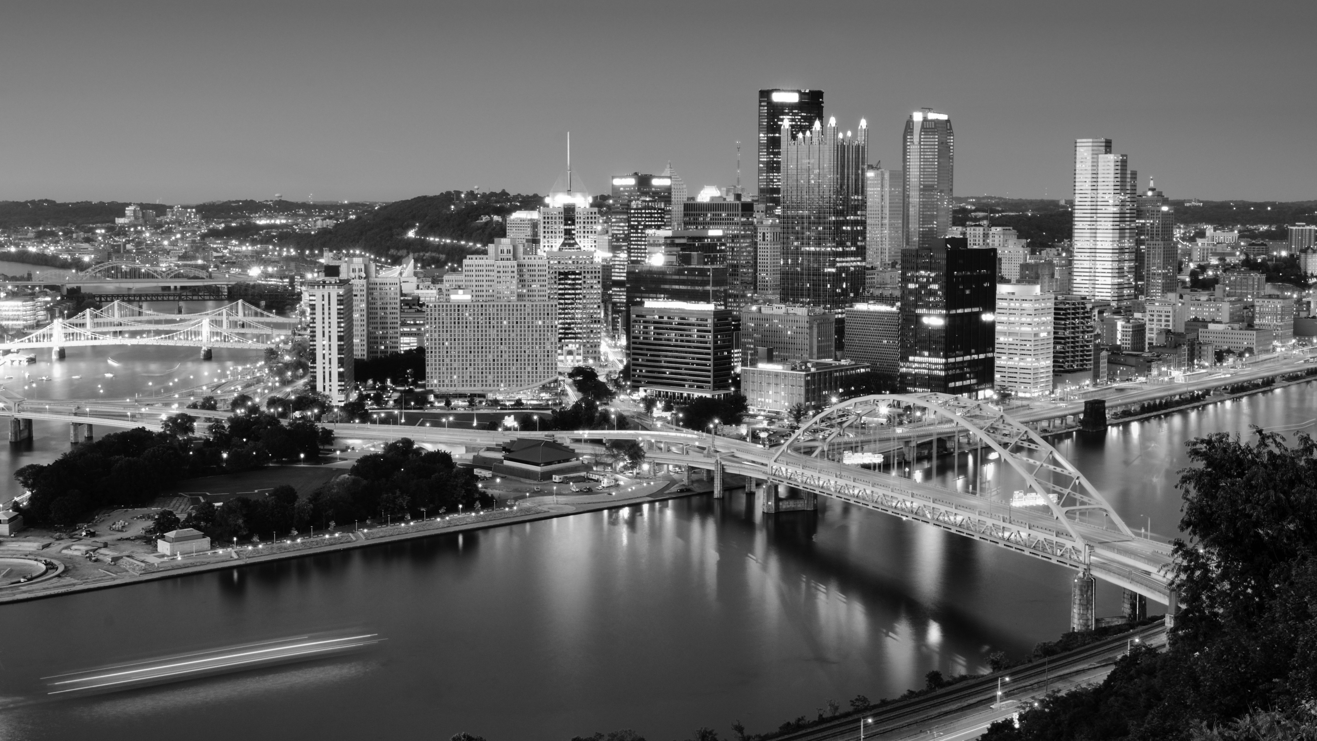 Pittsburgh City Landscape