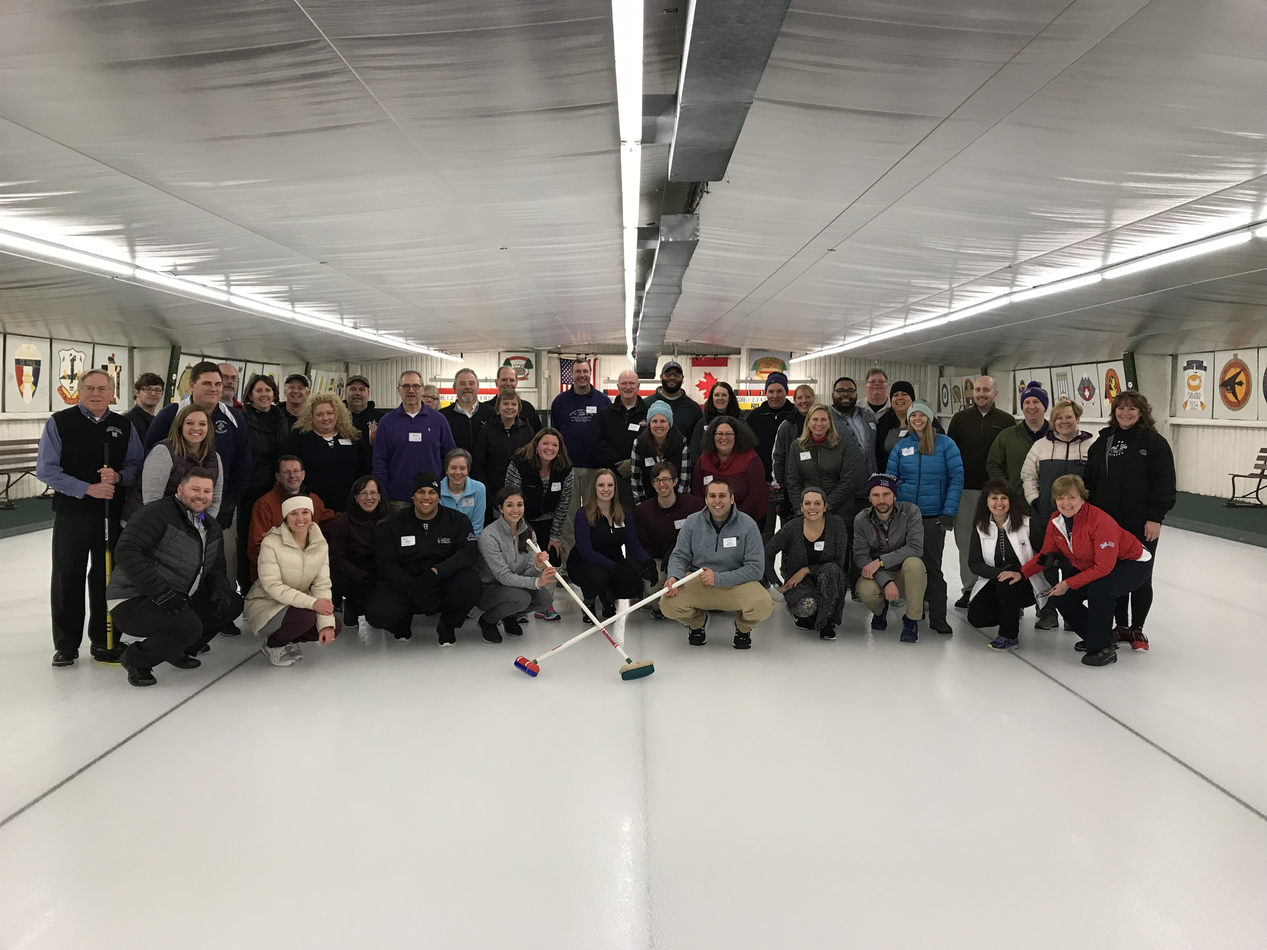 Curling 101 Group Photo