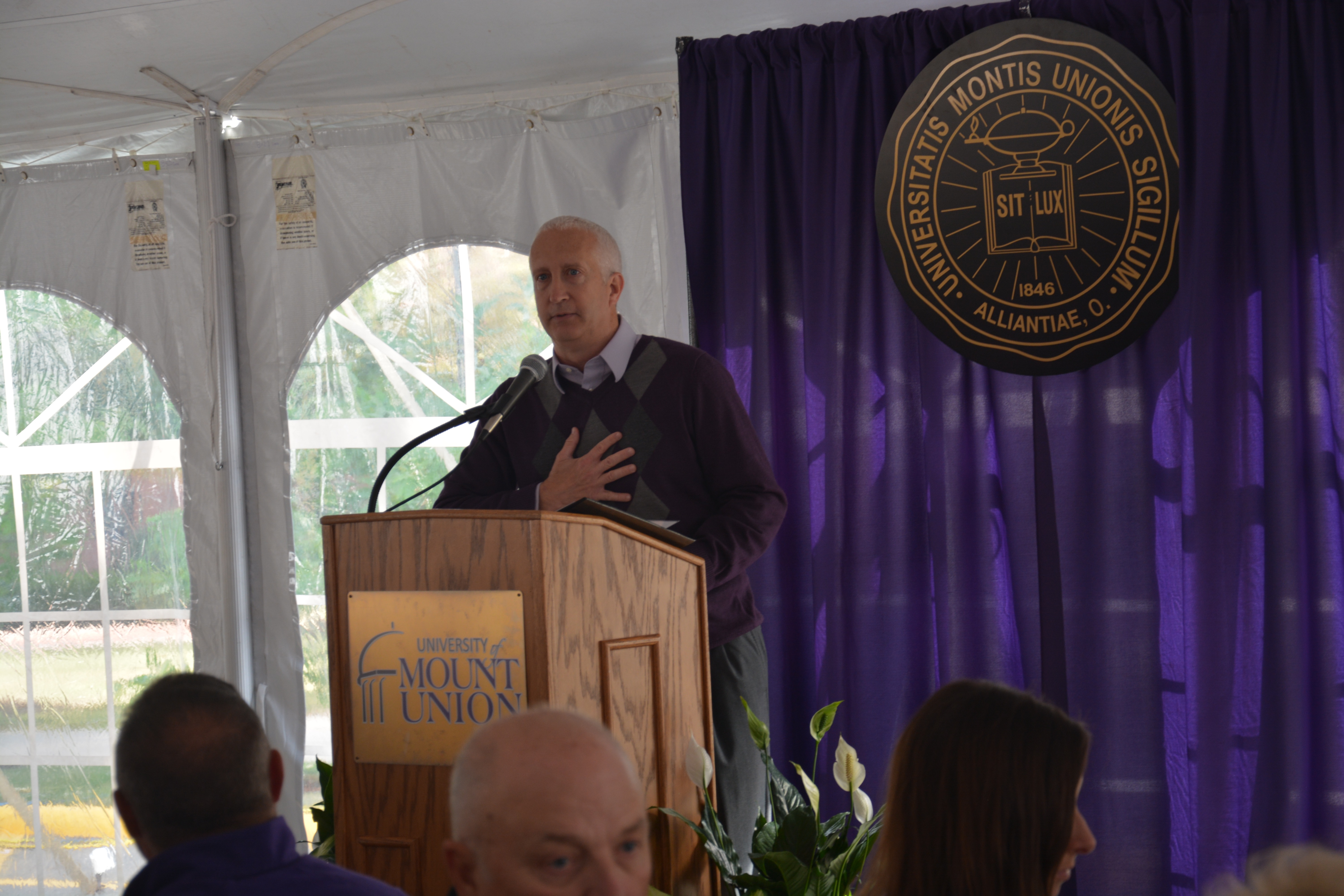Alumni Association Former President Bill Schumacher
