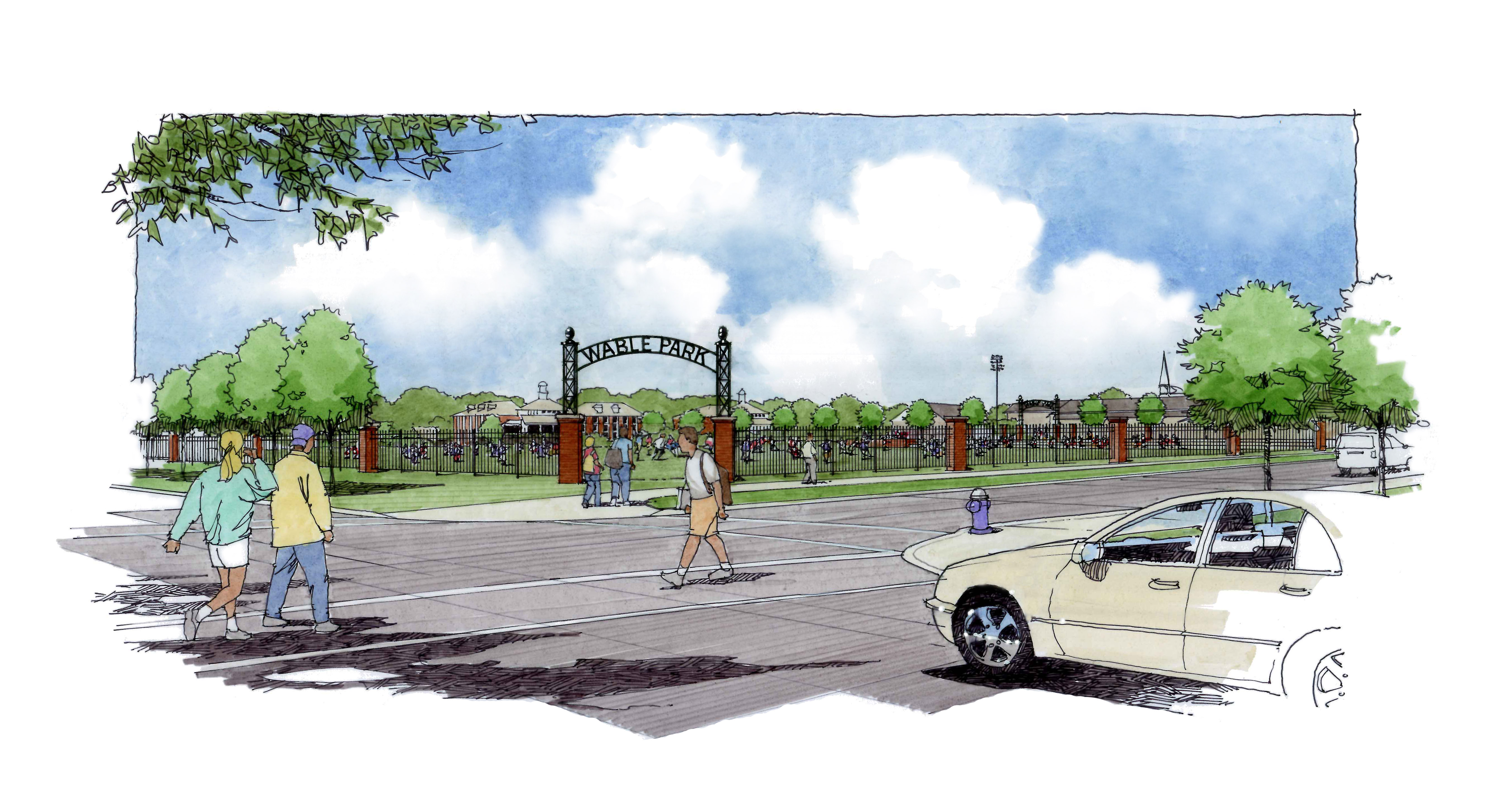 University of Mount Union Wable Park Rendering