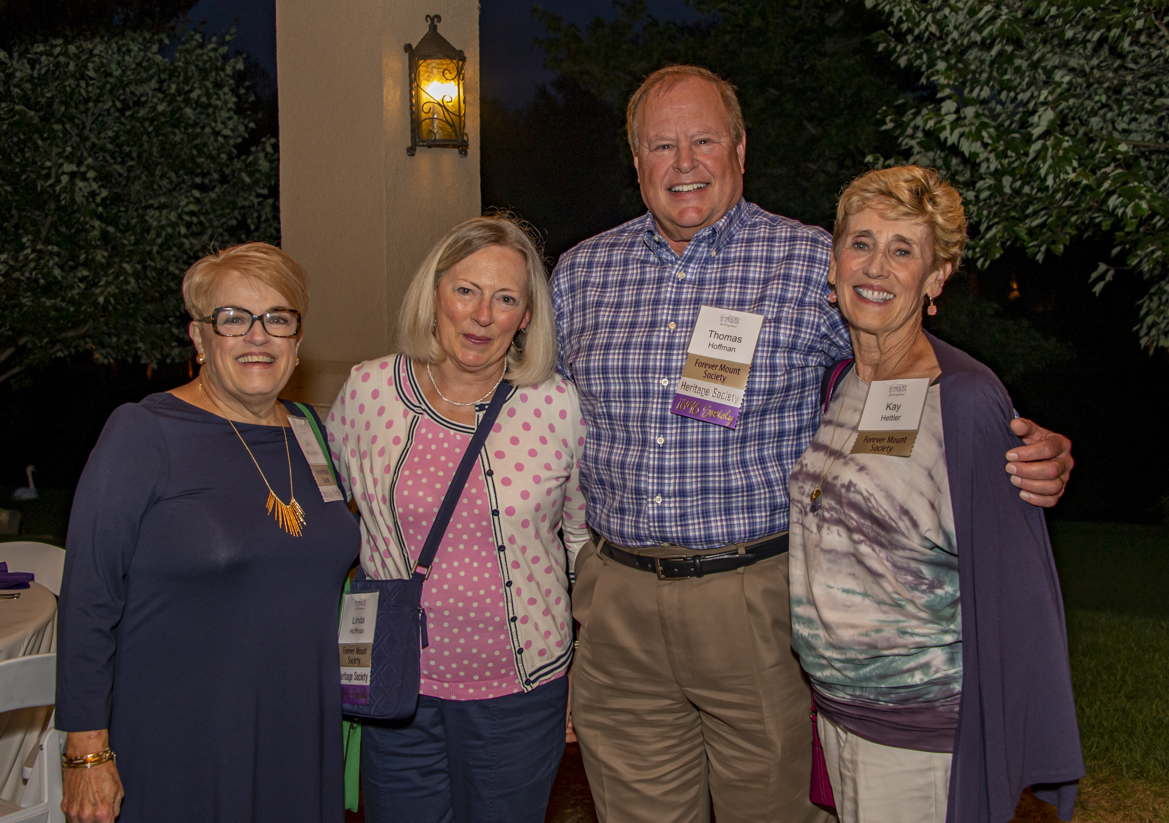 Forever Mount Society Members at An Evening Under the Stars