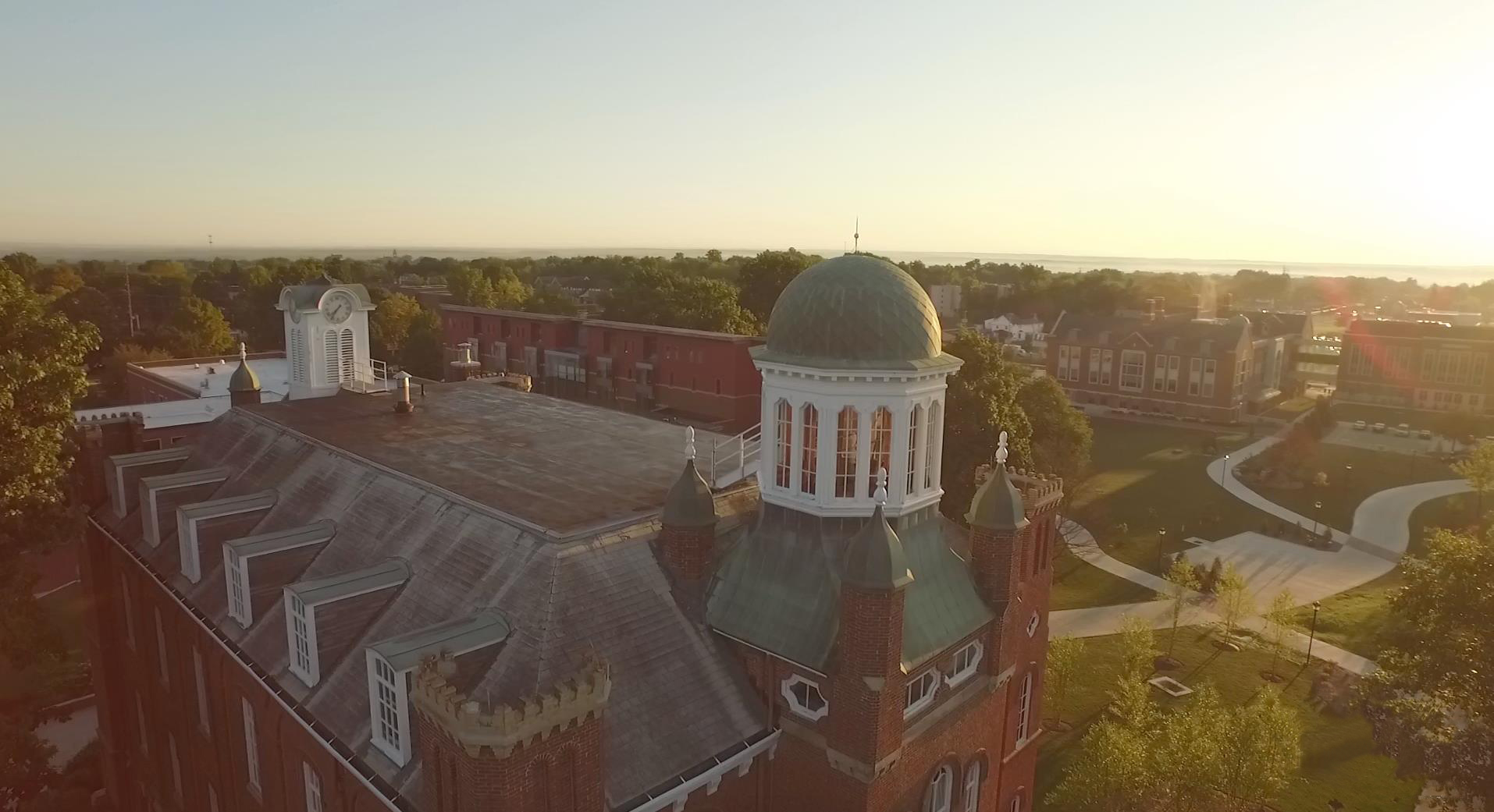 Aerial View of Chapman Hall
